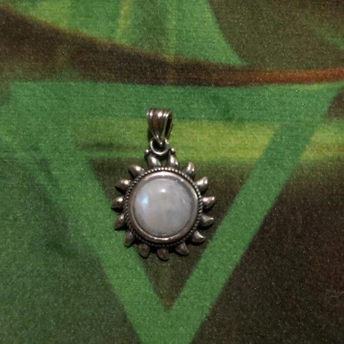 Collier pierre de lune <br></noscript>
