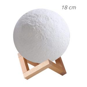 lampe lune 18cm