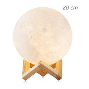 lampe lune 3d 20cm