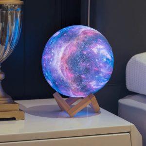 lampe galaxie 3D